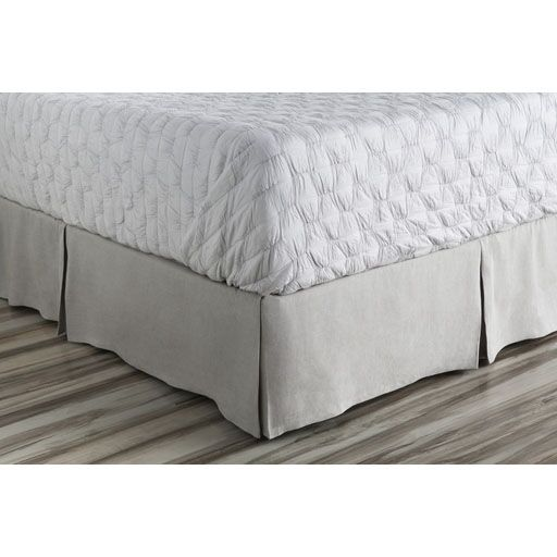 Ipava Bed Skirt Color: Gray, Size: California King