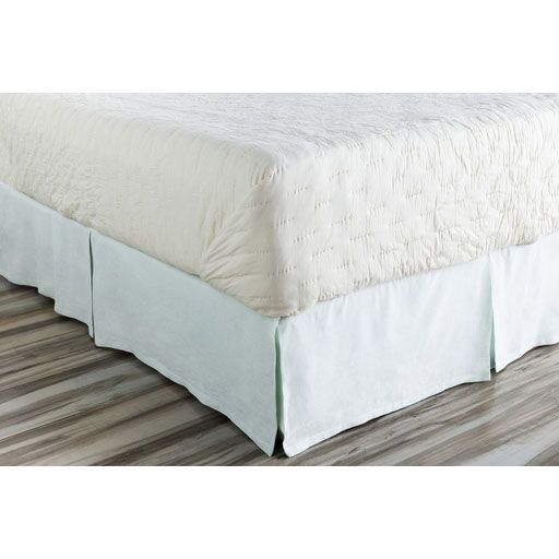 Ipava Bed Skirt Color: Blue, Size: Queen