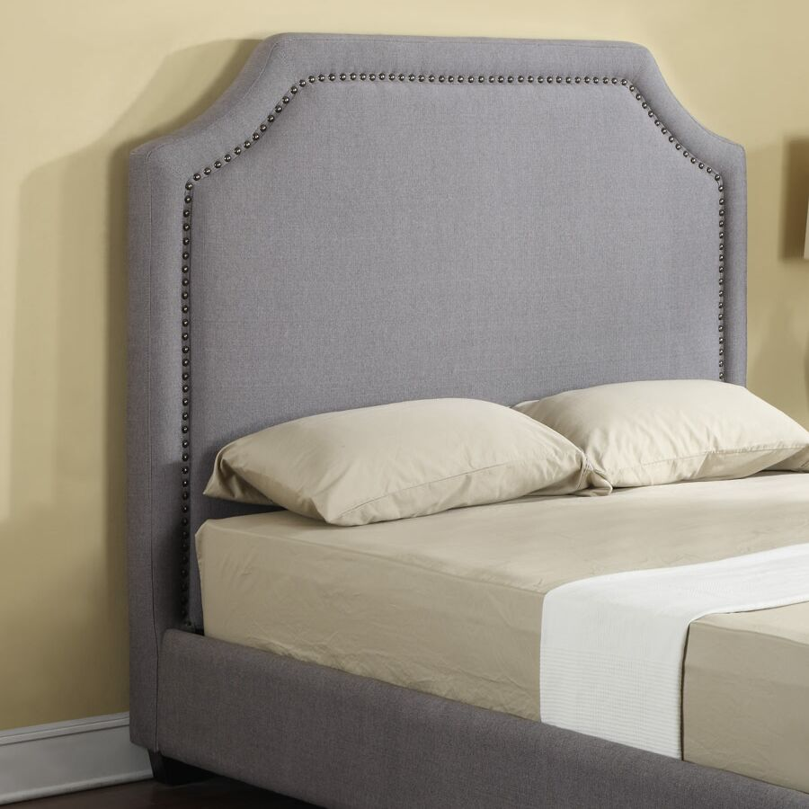 Pitcock Upholstered Panel Headboard Size: Queen