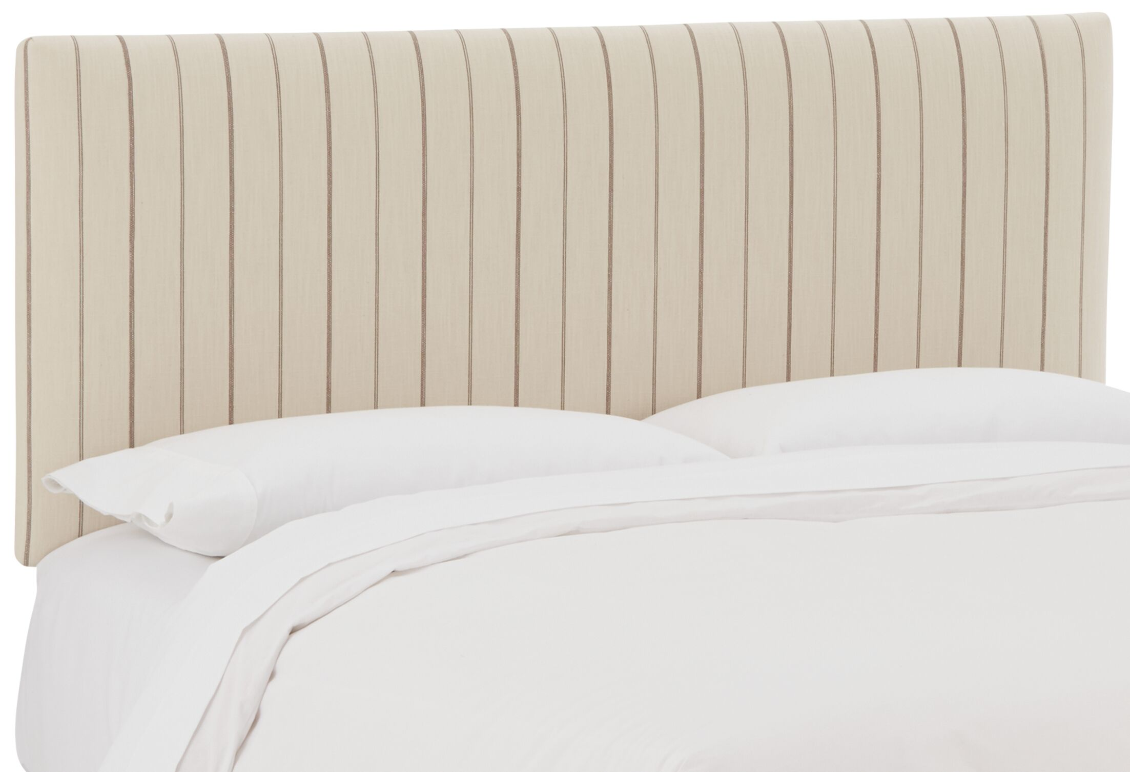 Mcdougall Upholstered Panel Headboard Size: California King, Upholstery: Fritz Charcoal