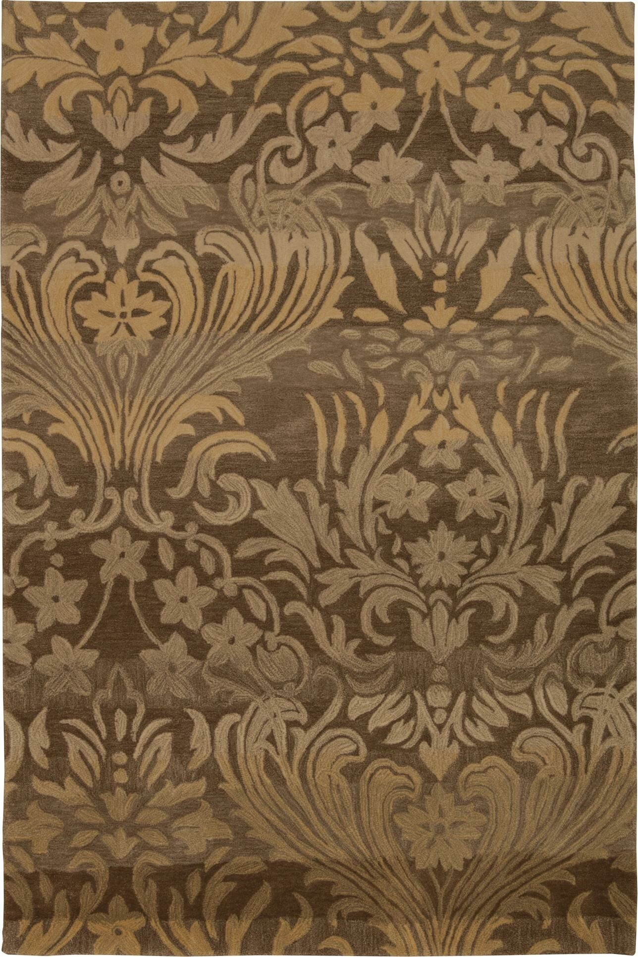 Porterfield Hand-Tufted Latte Area Rug Rug Size: Rectangle 8' x 10'6