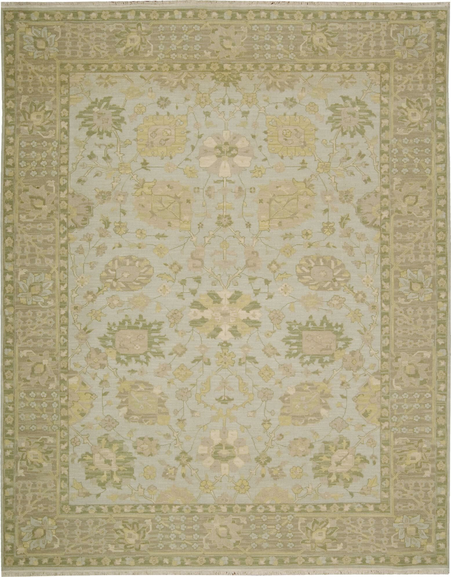Cullen Hand-Woven Mist Area Rug Rug Size: Rectangle 3'10