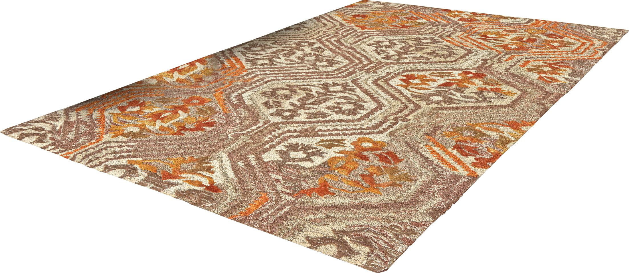 Aster Hand-Tufted Area Rug Rug Size: Rectangle 5' x 8'