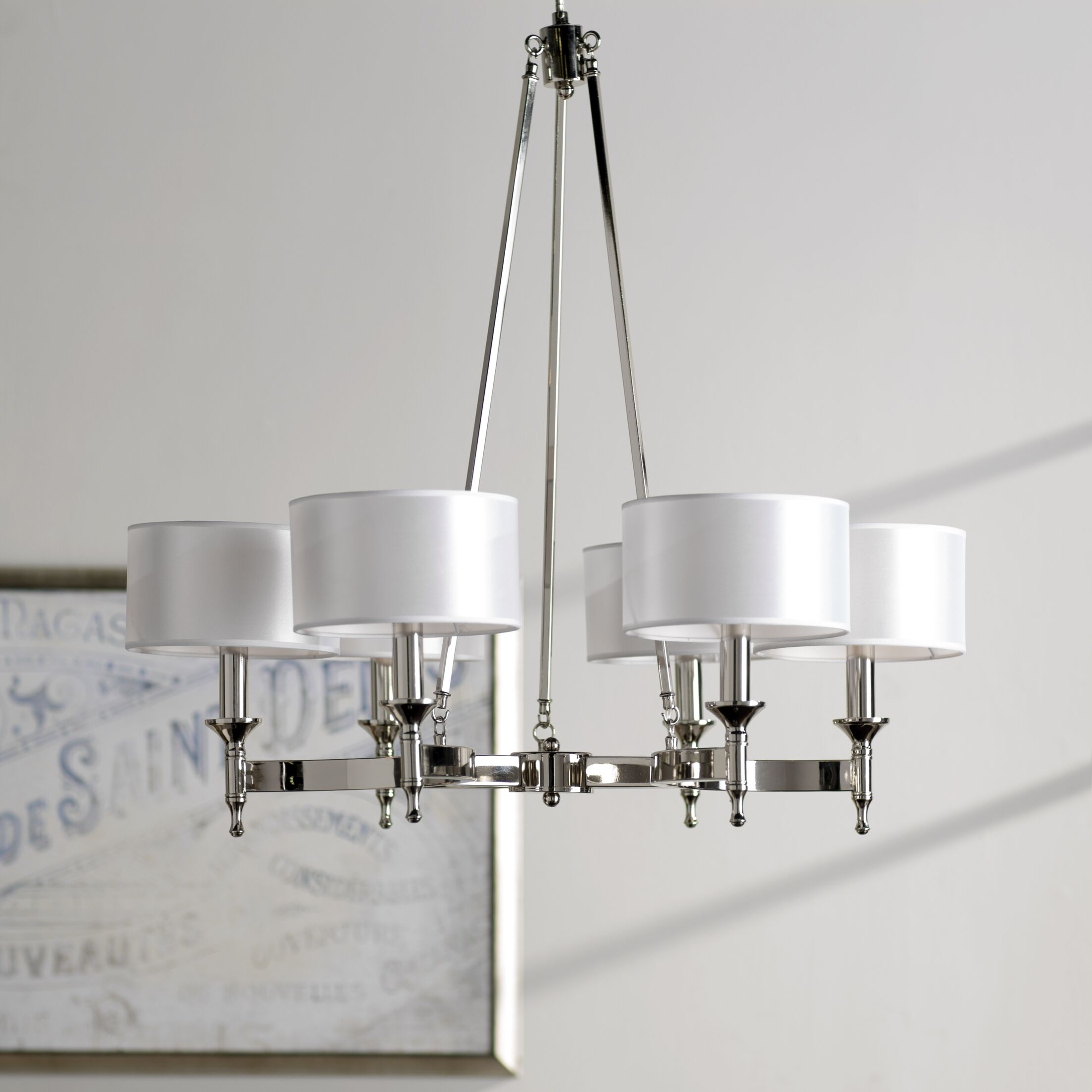 Watson 6-Light Shaded Chandelier