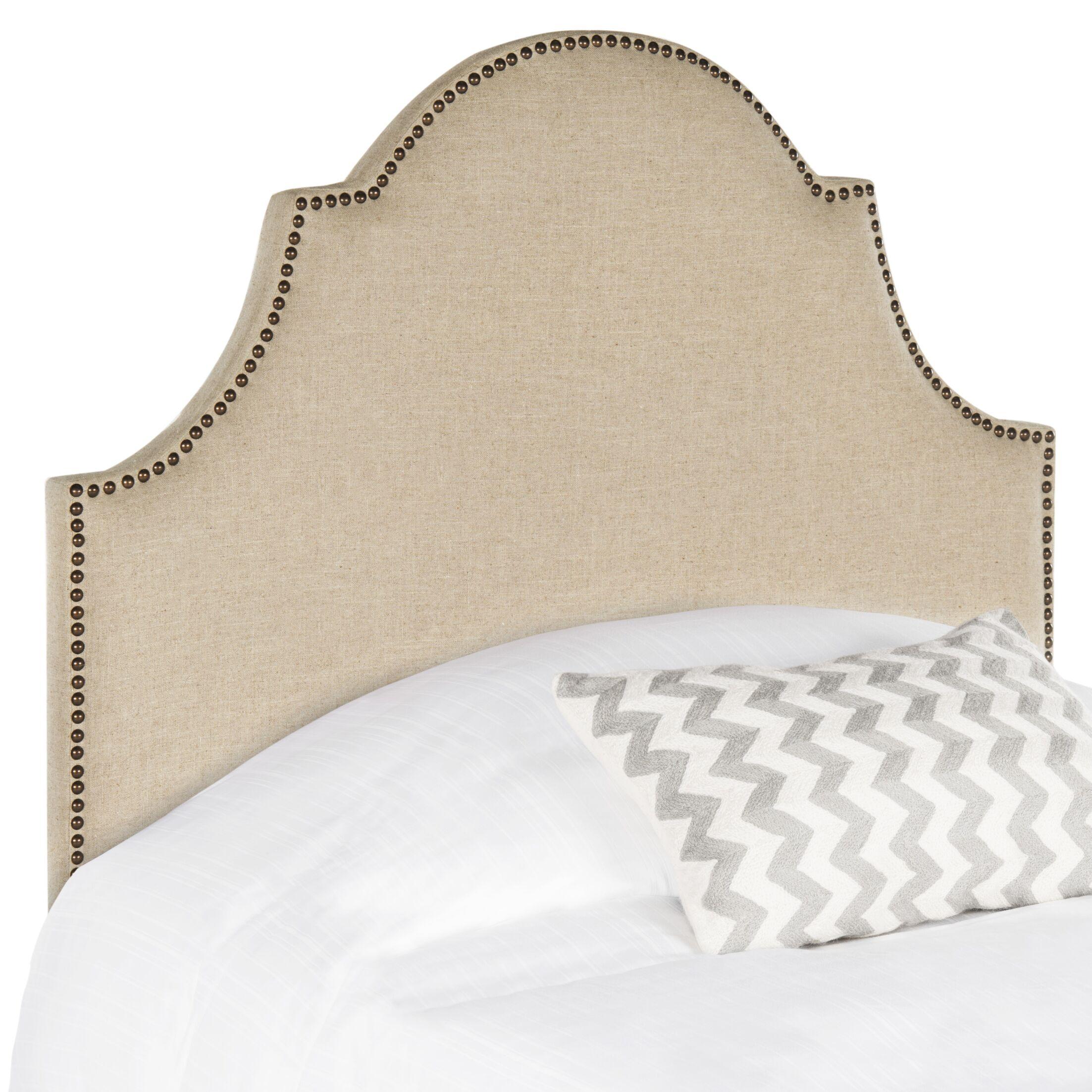 Caswell Upholstered Panel Headboard Size: Full