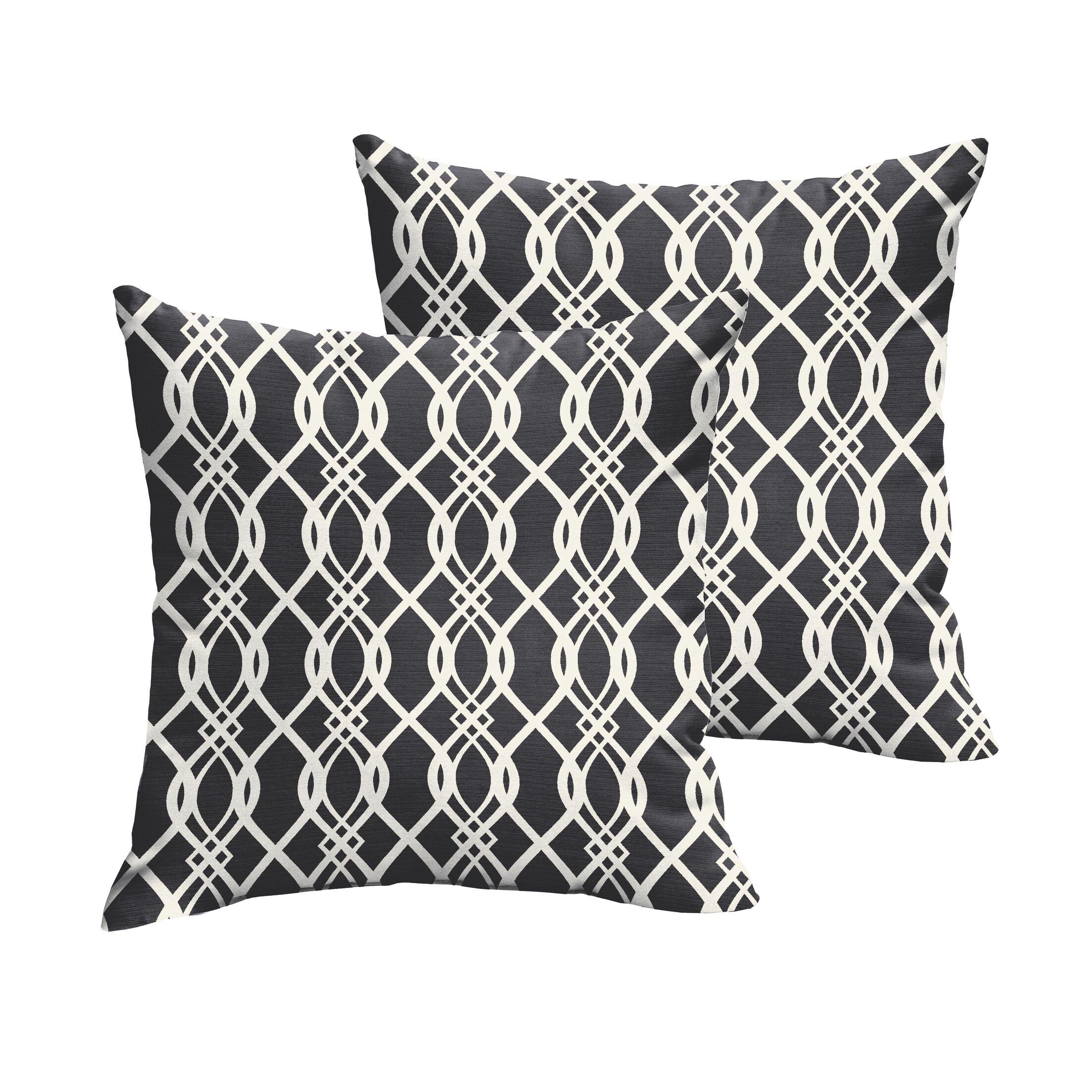 Valier Indoor/Outdoor Throw Pillow Size: 20