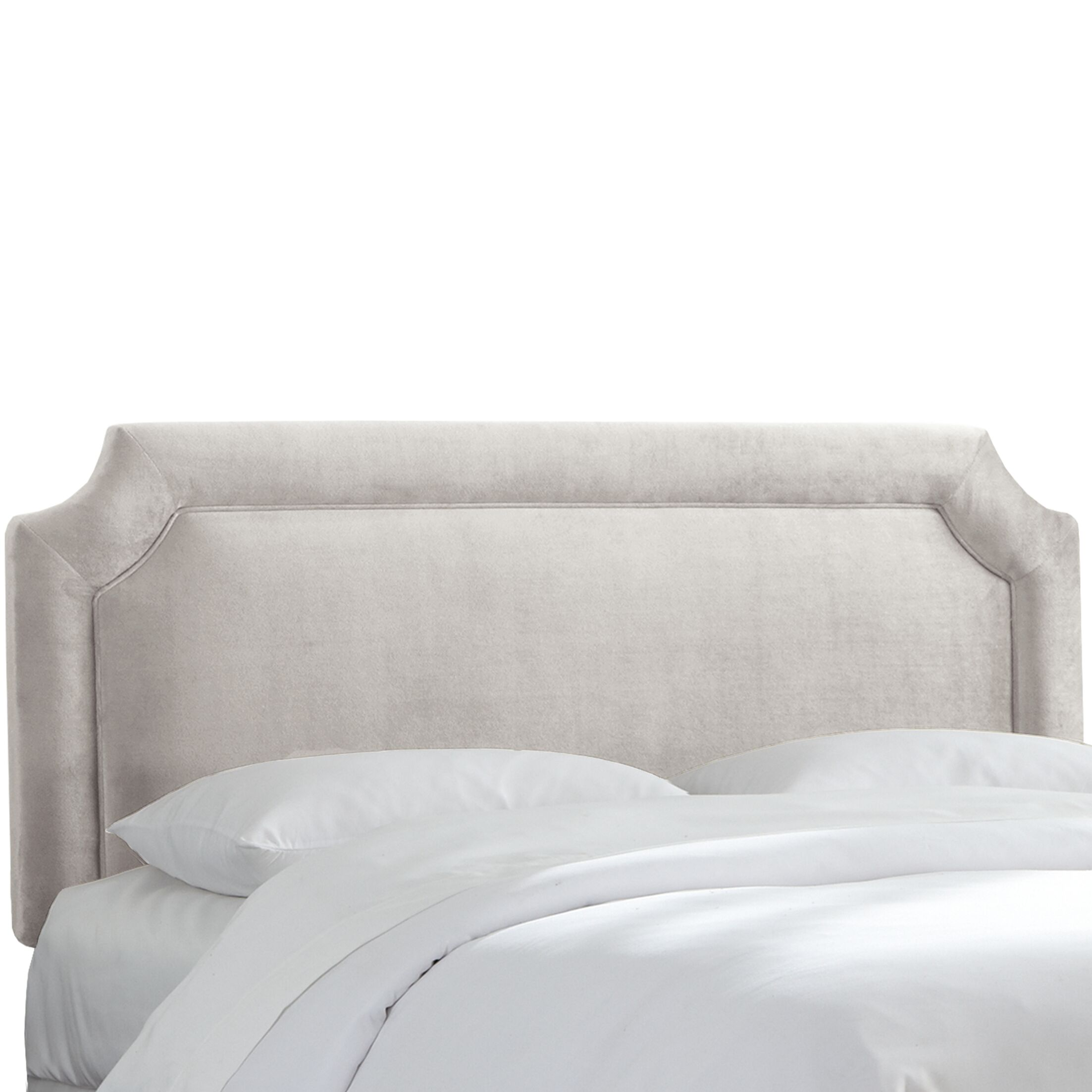 Arundel Upholstered Panel Headboard Size: Twin, Upholstery: Mystere Dove