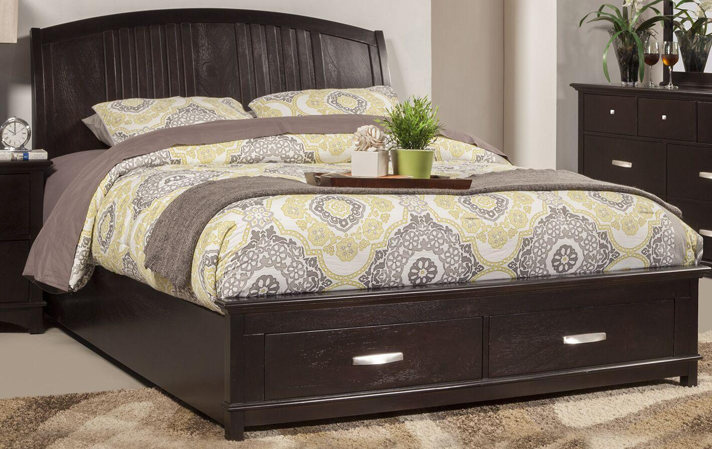 Madison Storage Platform Bed Size: Queen