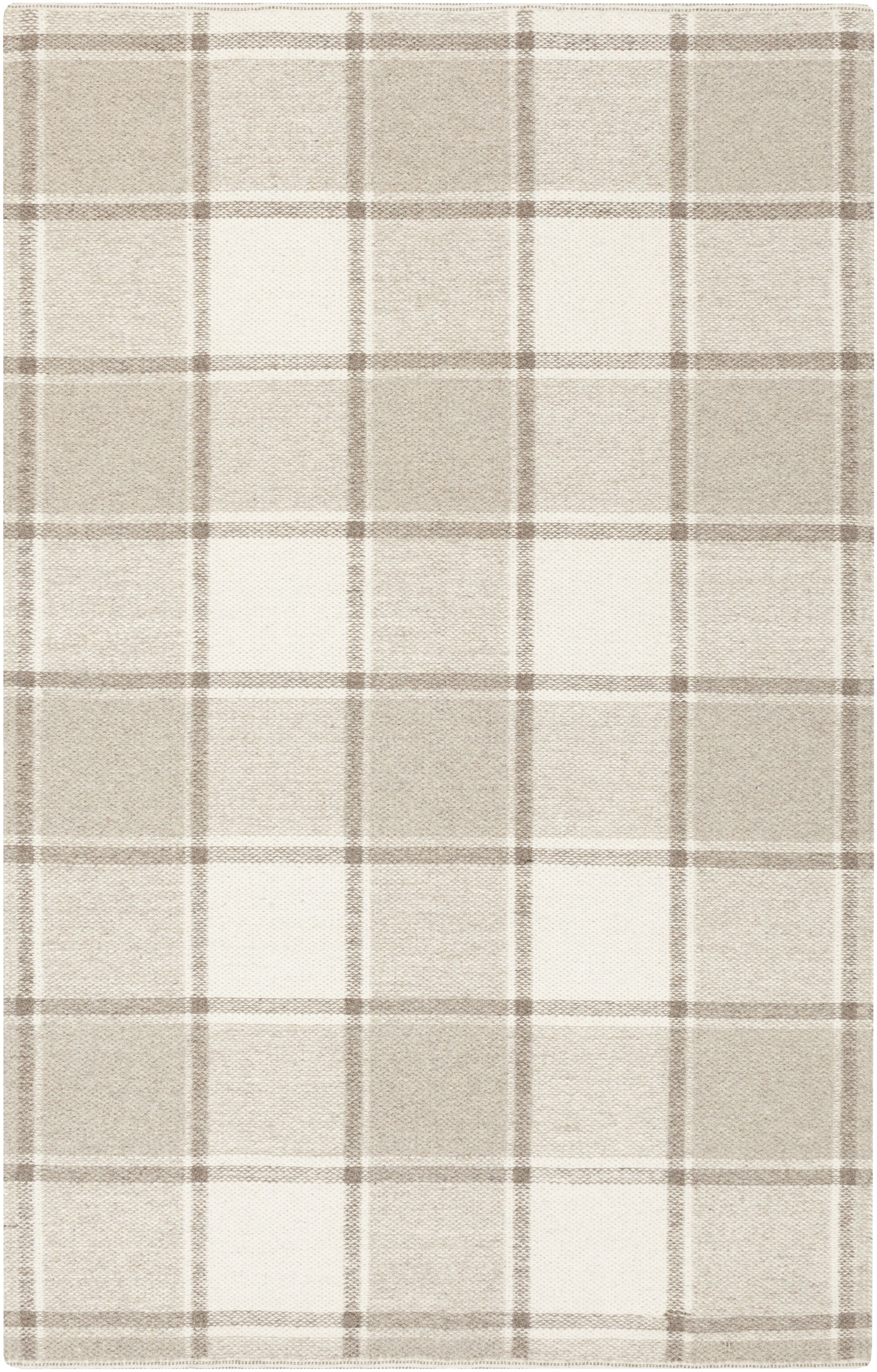 Carnkeeran Lakewood Hand-Woven Gray Area Rug Rug Size: 8' x 10'