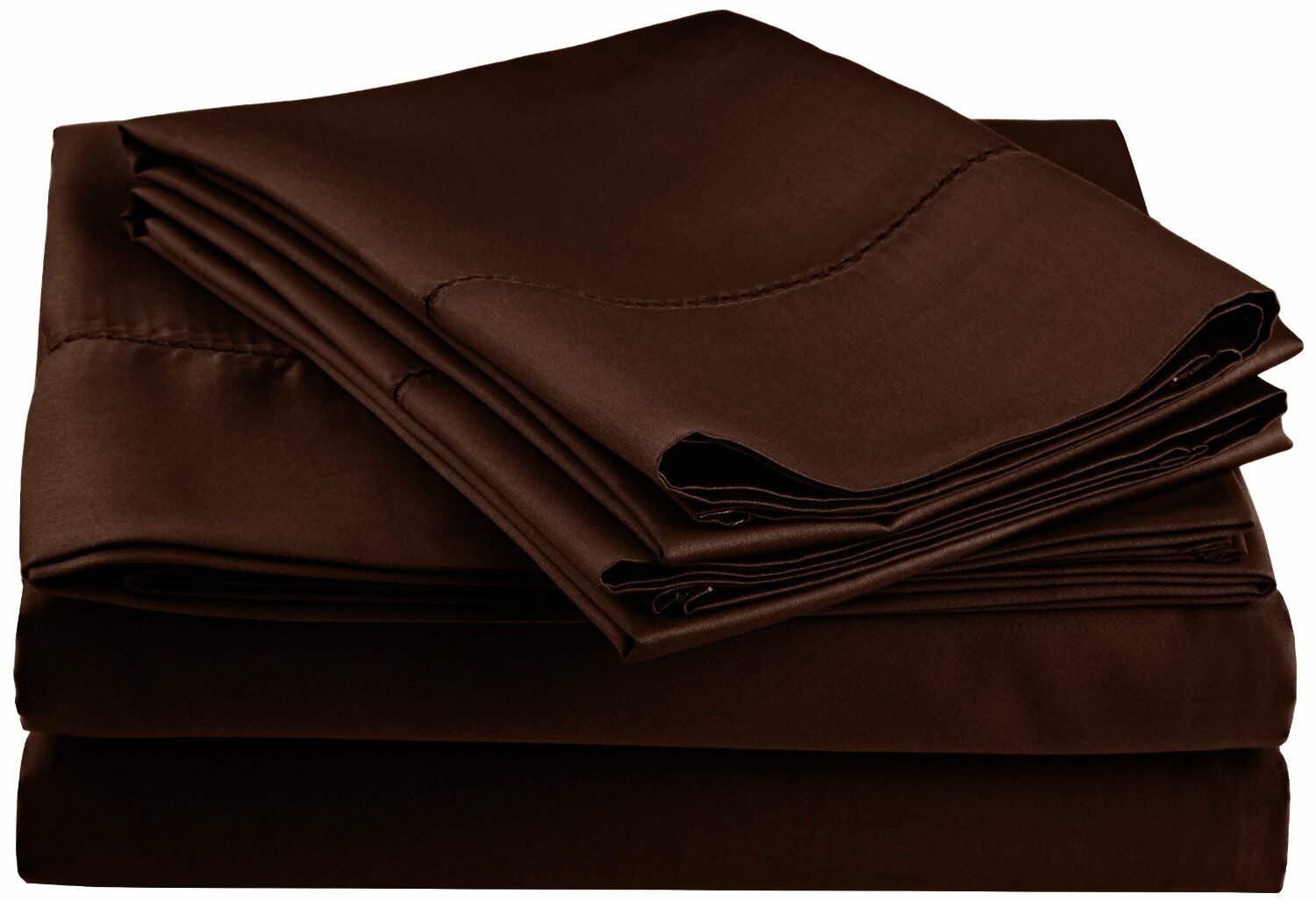 Freeburg 600 Thread Count Sheet Set Color: Chocolate, Size: California King