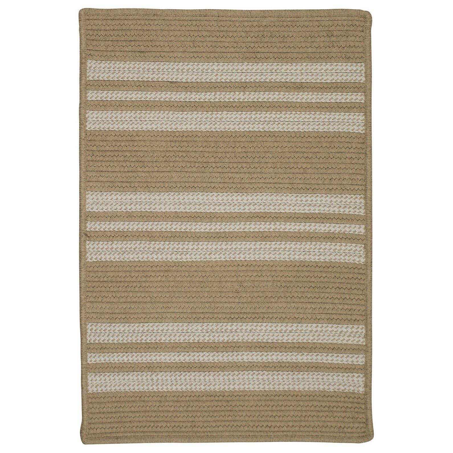 Neponset Hand-Woven Beige Indoor/Outdoor Area Rug Rug Size: Runner 2' x 9'