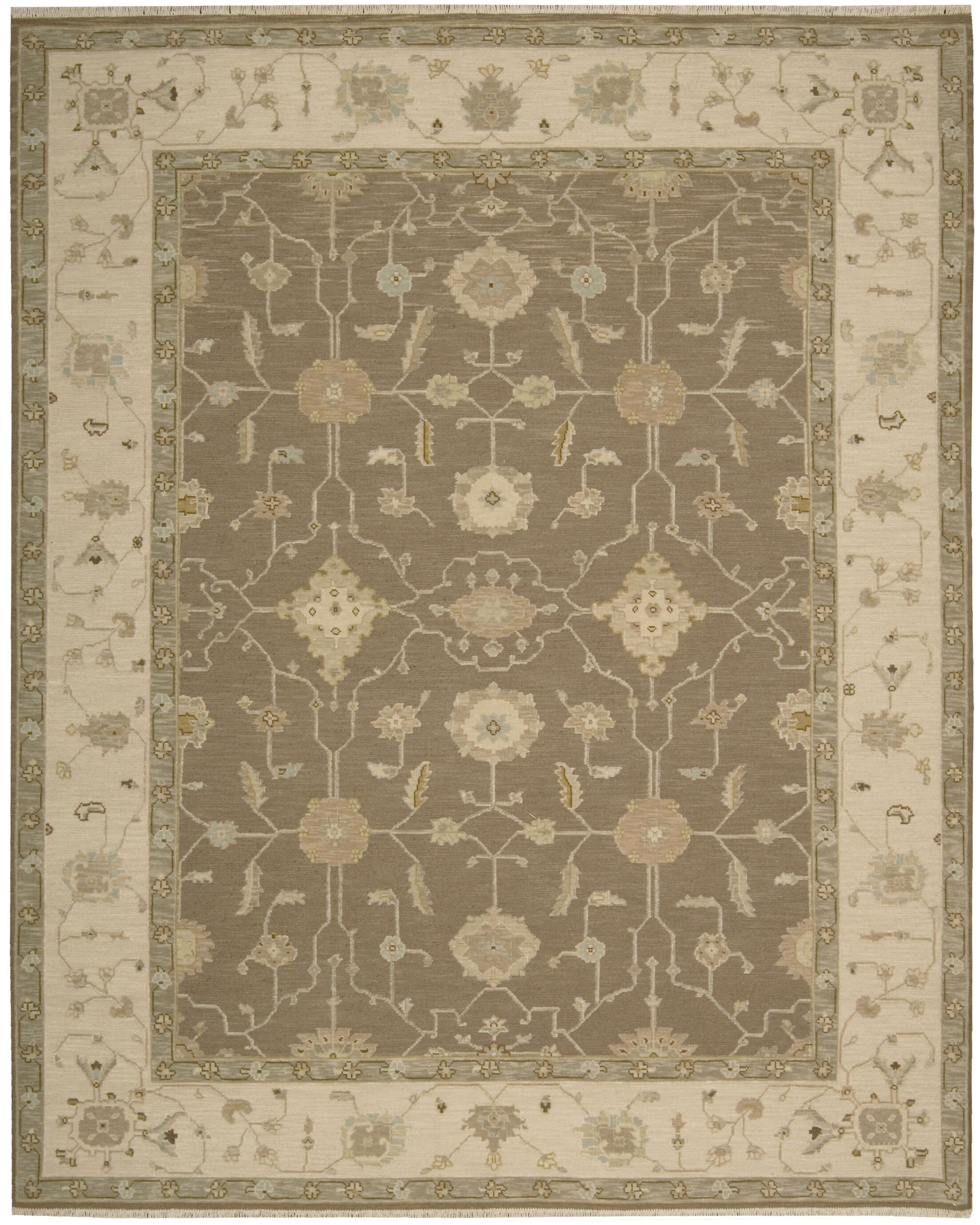 Burnham Hand-Woven Mocha Area Rug Rug Size: Rectangle 5'10