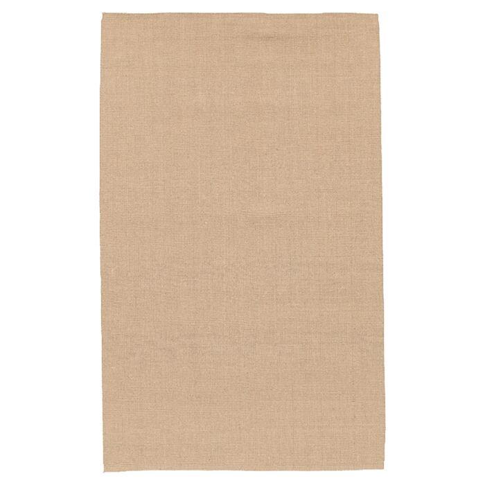 Jute Hand-Woven Tan Area Rug Rug Size: Rectangle 3'6