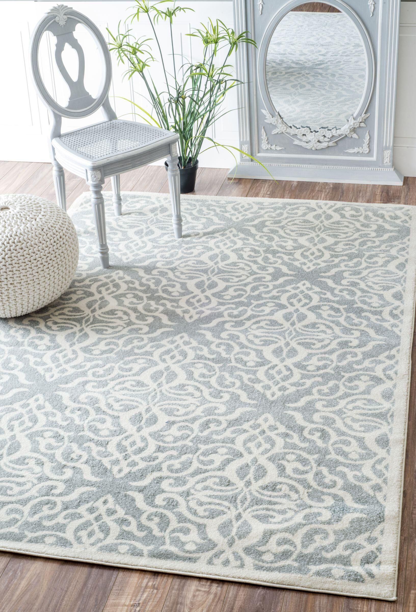 Shoals Silver Area Rug Rug Size: Rectangle 8' x 10'