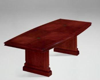 Prestbury Boat Shaped Conference Table Size: 10' L