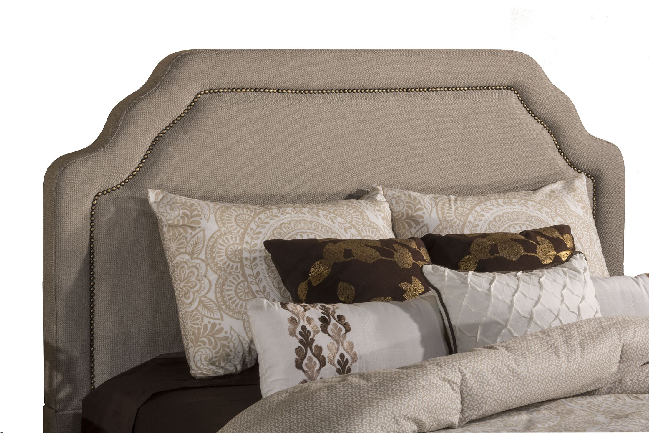 Danton Upholstered Panel Headboard Size: California King