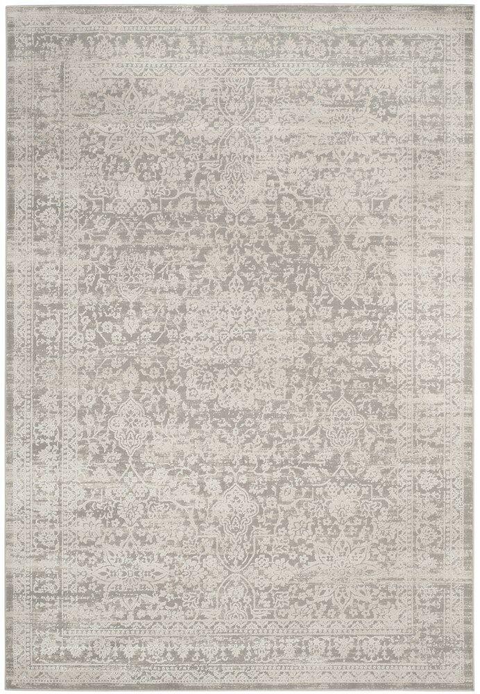 Douglass Gray/Beige Area Rug Rug Size: Runner 2' x 8'