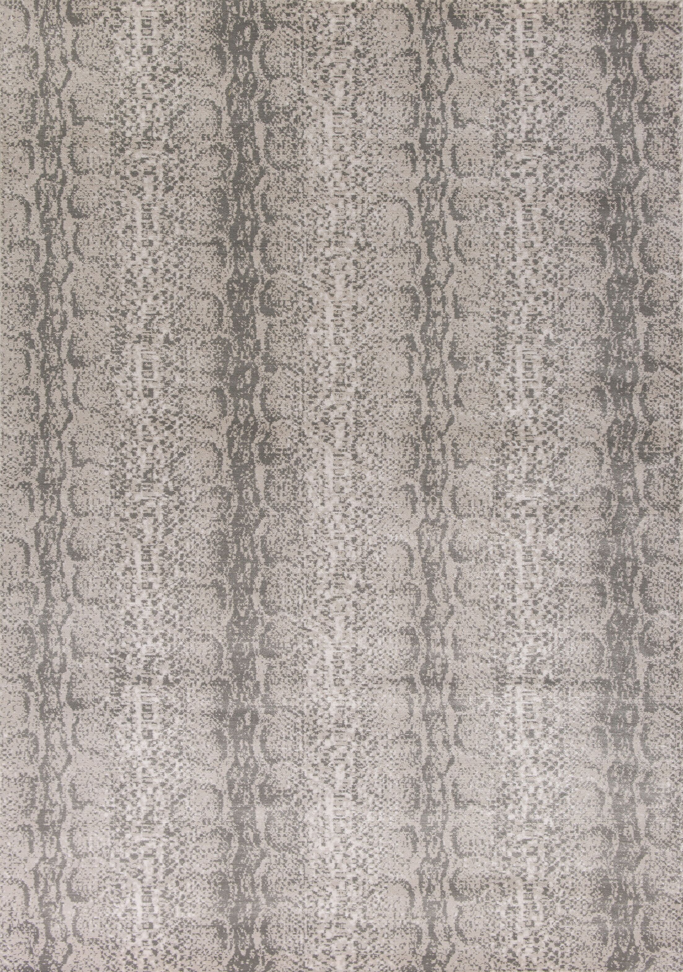 Deering Taupe/Gray Area Rug Rug Size: Rectangle 7'10