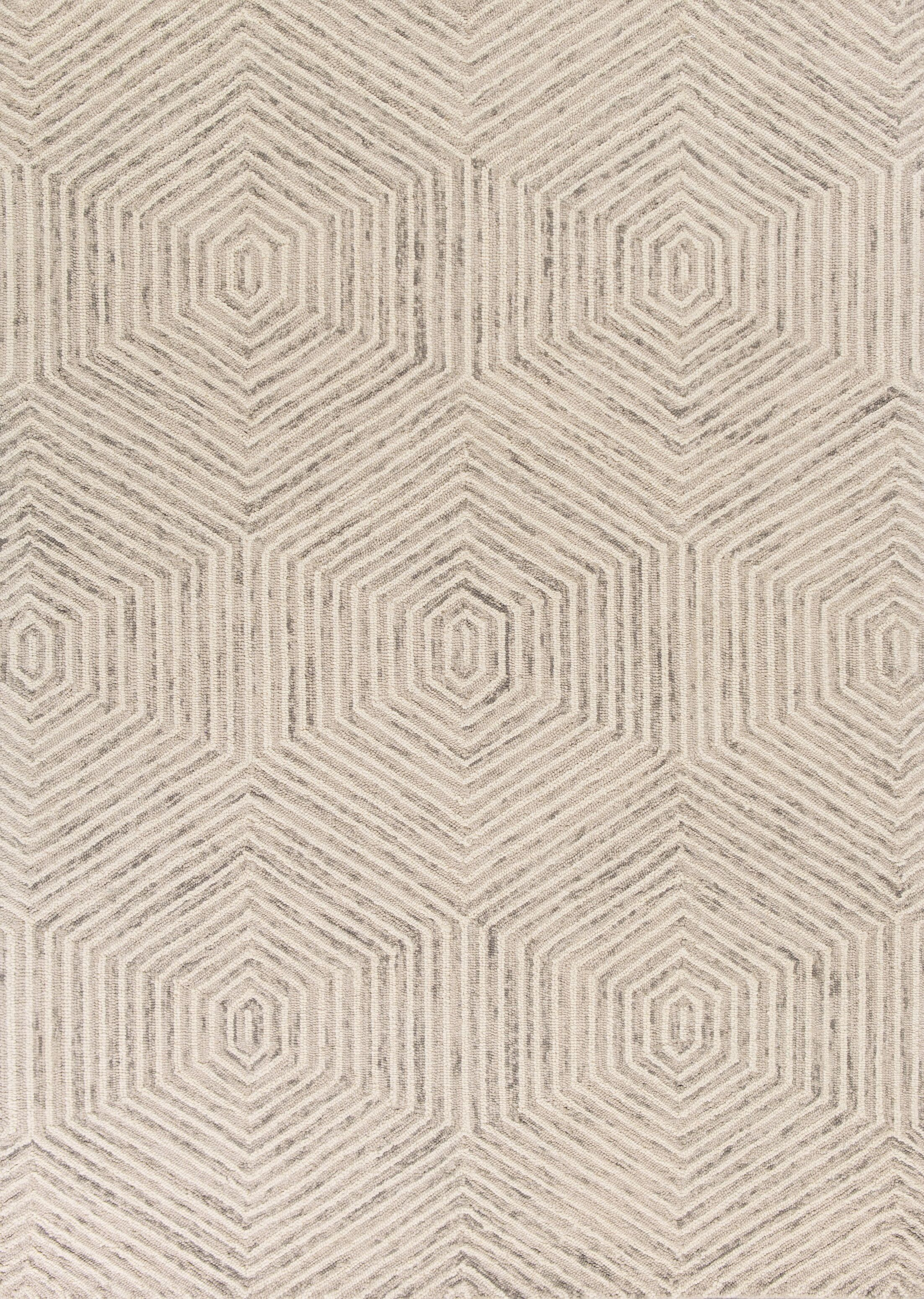 Suanne Hand-Tufted Ivory Area Rug Rug Size: 3'3