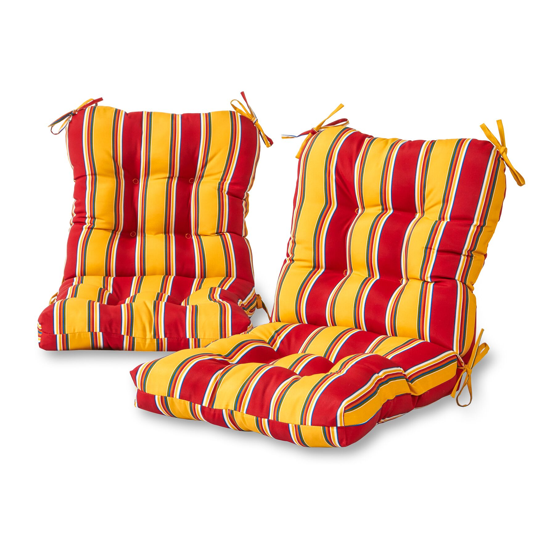 Sarver Synthetic Indoor/Outdoor Dining Chair Cushion Fabric: Carnival