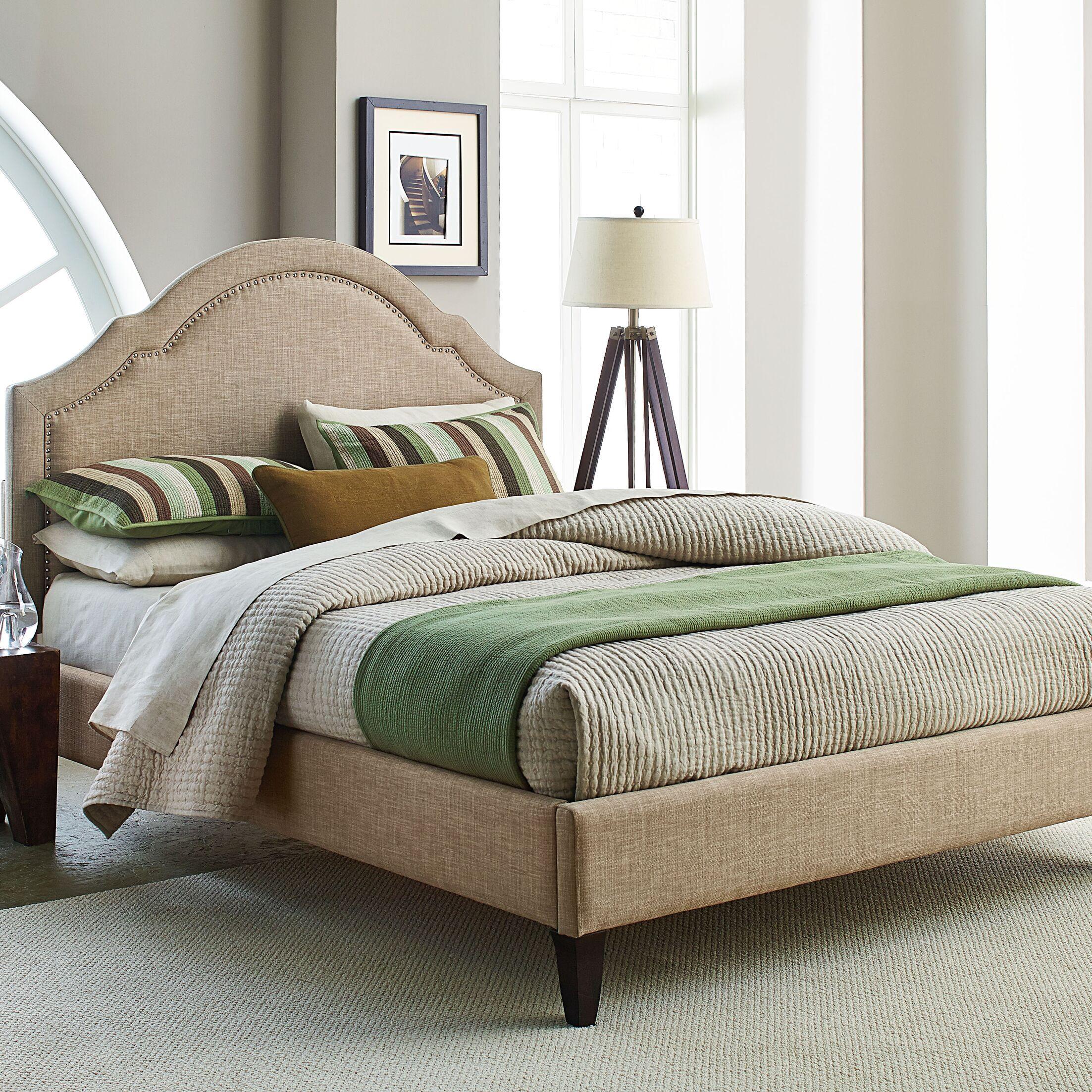 Prenda Upholstered Platform Bed Size: King