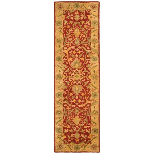Traver Rust Area Rug Rug Size: Runner 2'3