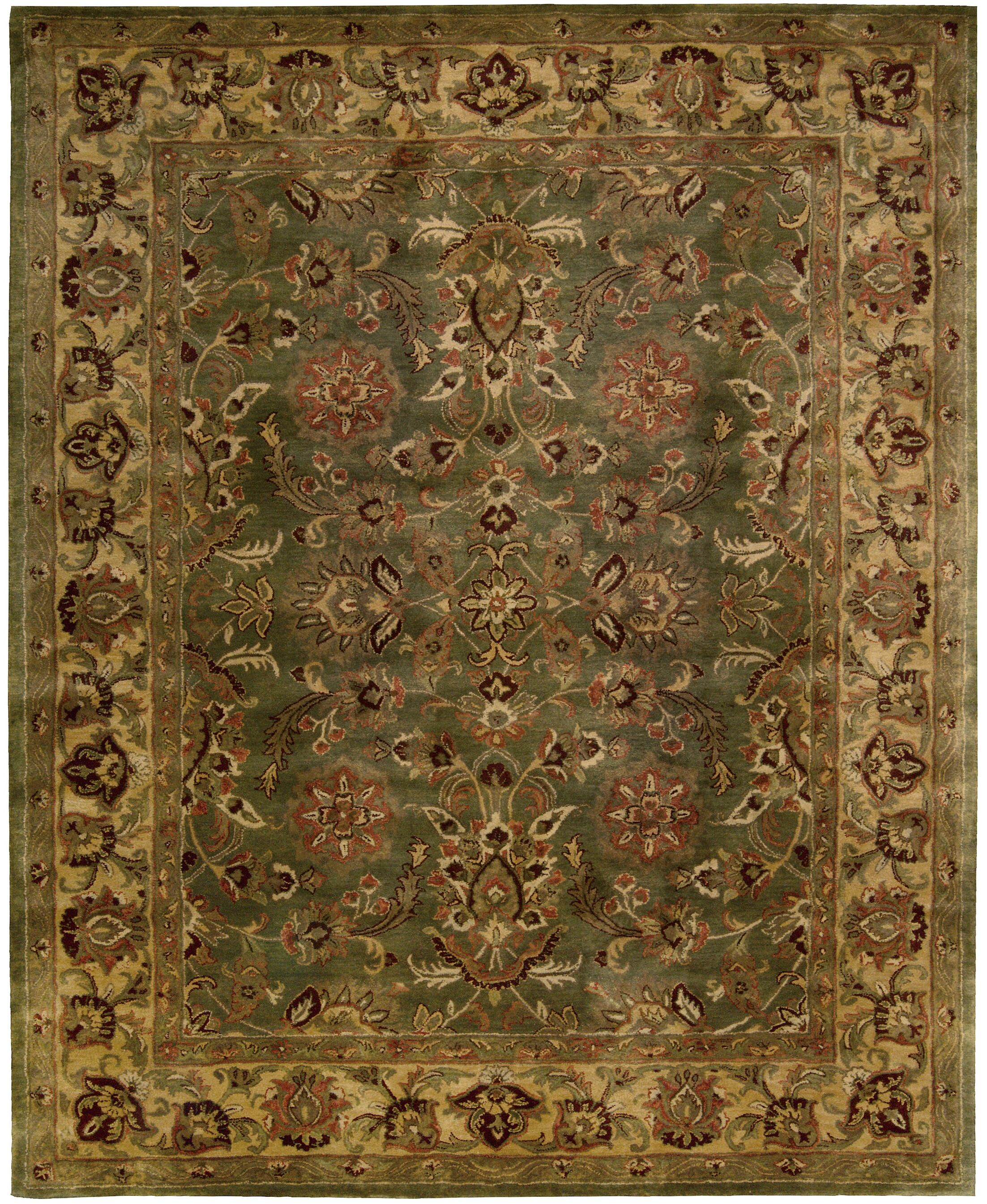 Delaware Hand-Woven Wool Area Rug Rug Size: Rectangle 5'6