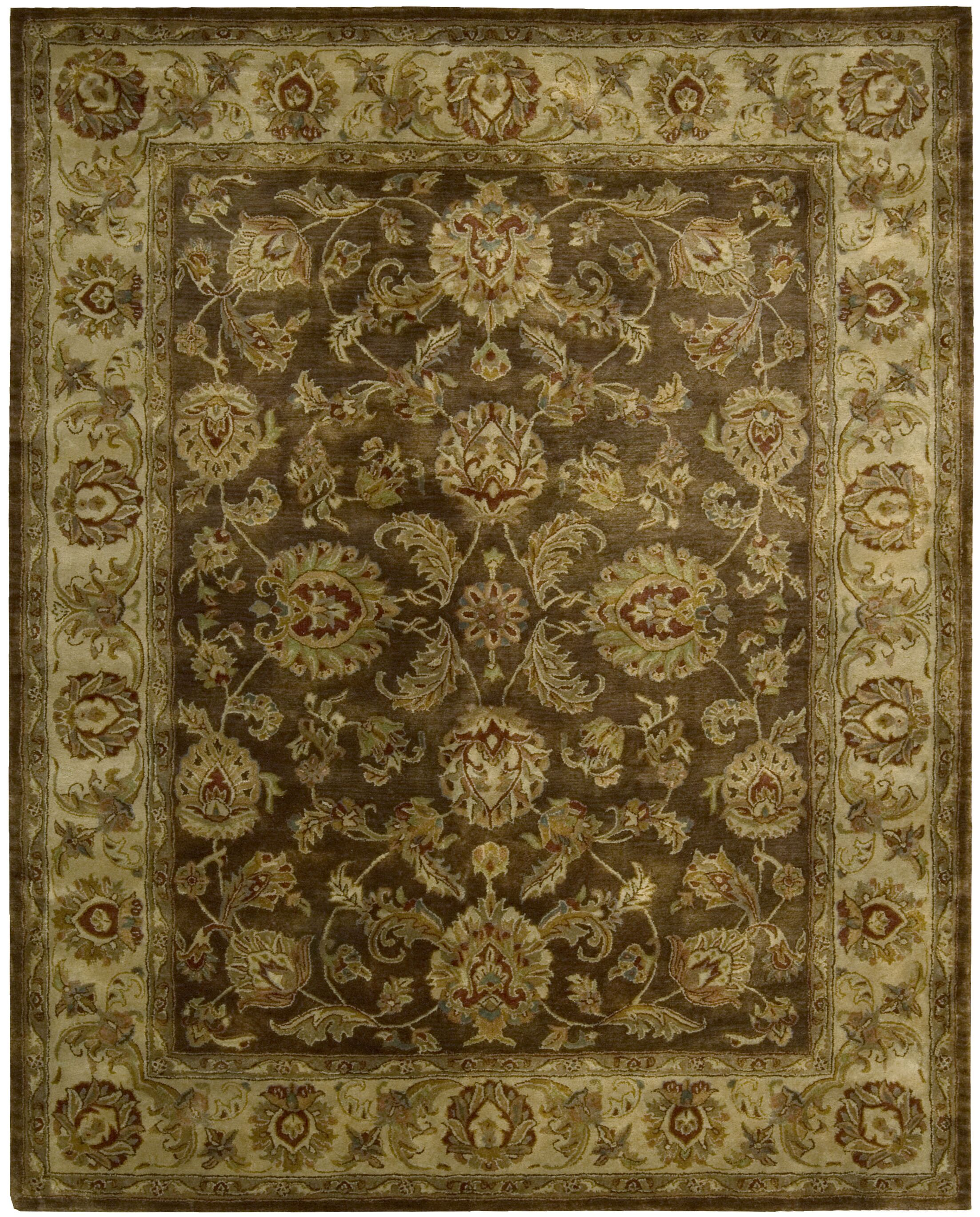 Delaware Hand-Tufted Brown Area Rug Rug Size: Rectangle 3'9