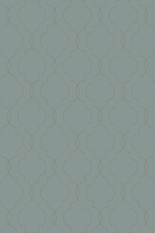 Amenia Teal/Olive Geometric Rug Rug Size: Rectangle 9' x 13'