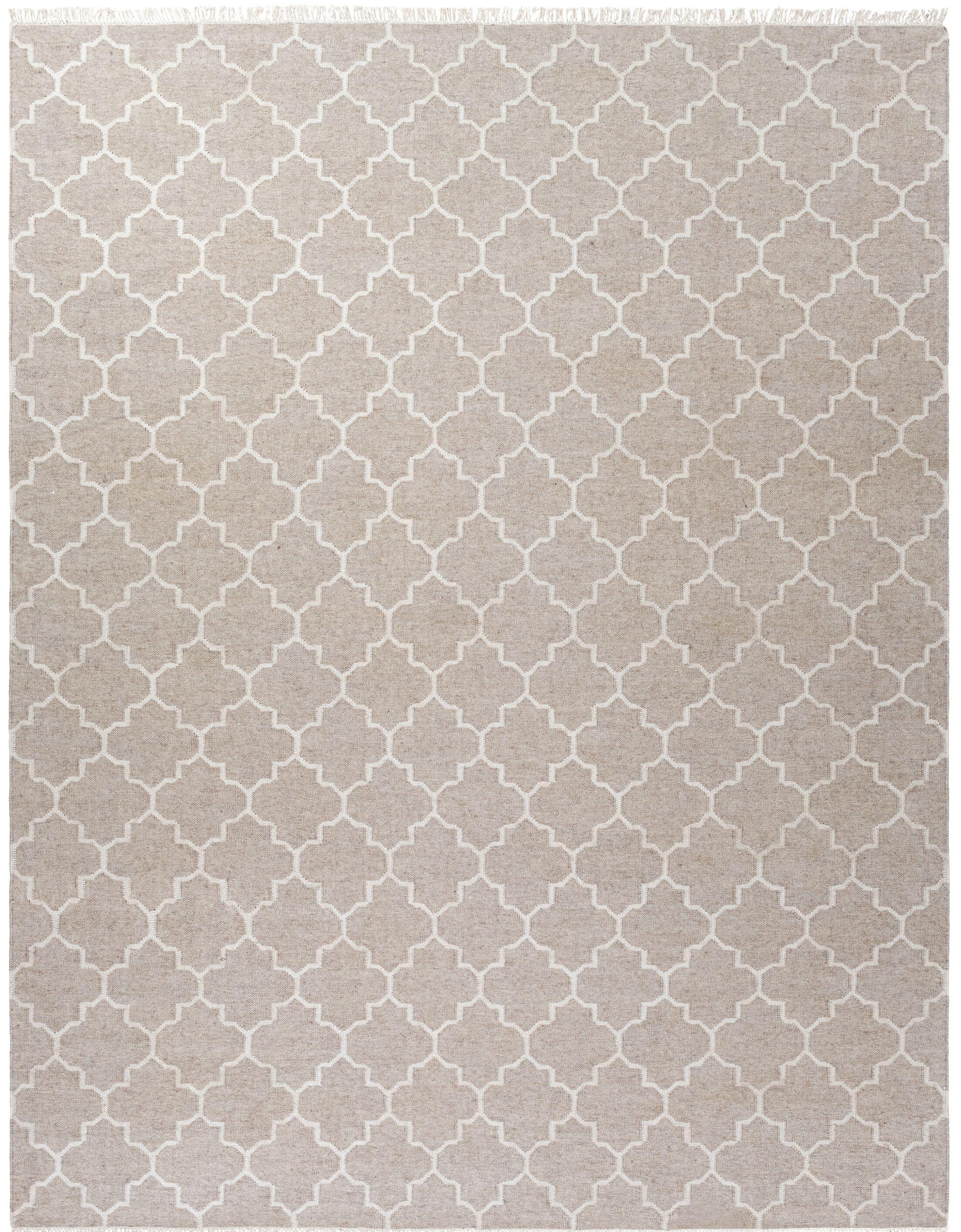 Palladio Hand-Woven Gray Area Rug Rug Size: Rectangle 8' x 10'