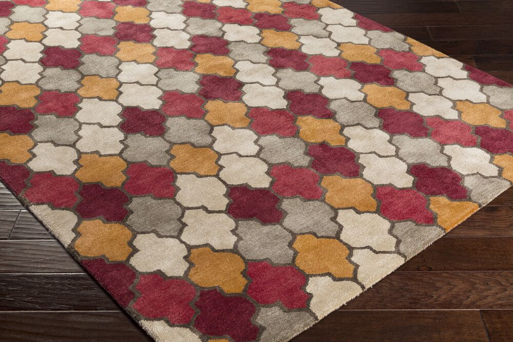 Grant Hand-Tufted Area Rug Rug Size: Rectangle 5' x 8'