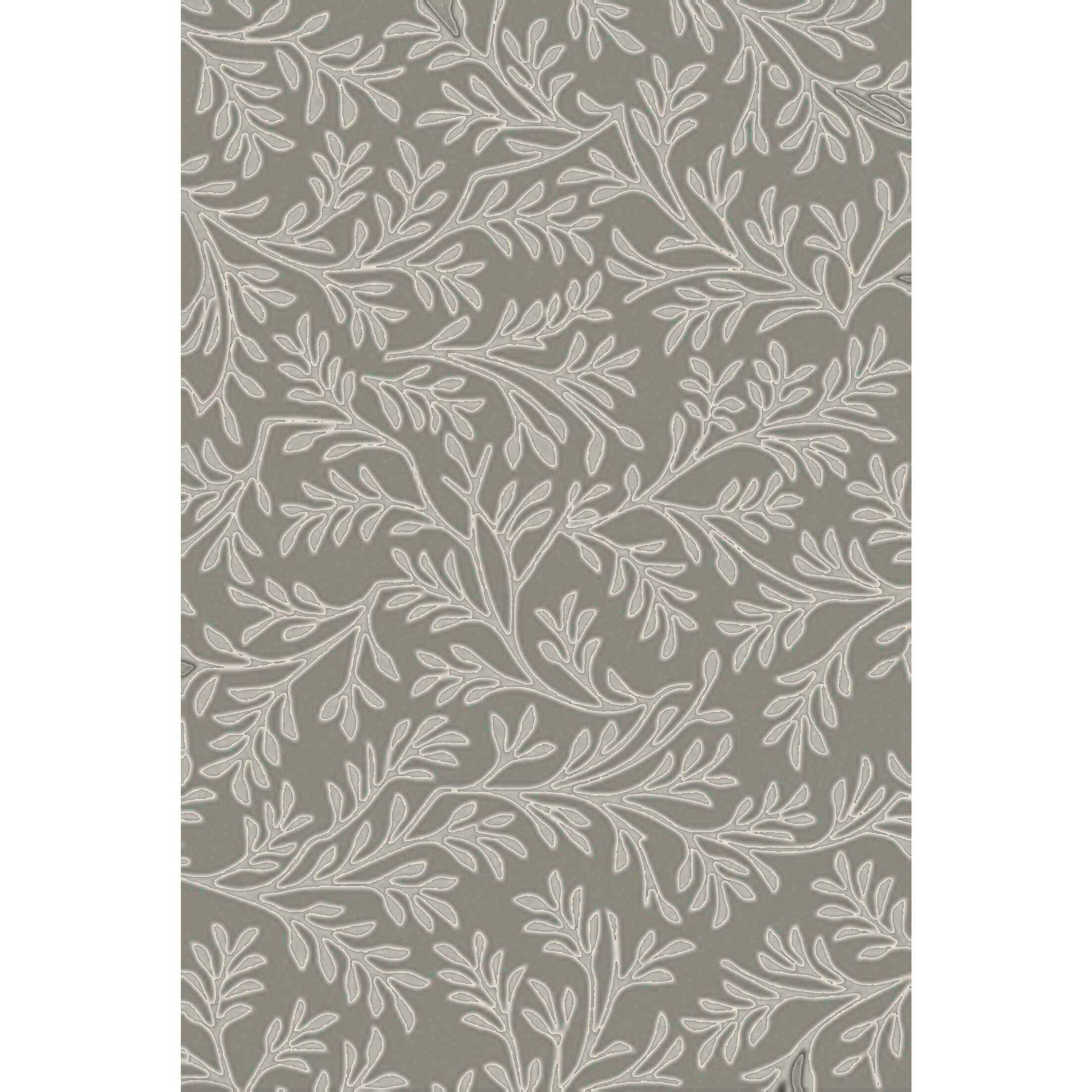 Grant Hand-Tufted Light Gray/Beige Area Rug Rug Size: Rectangle 3'6