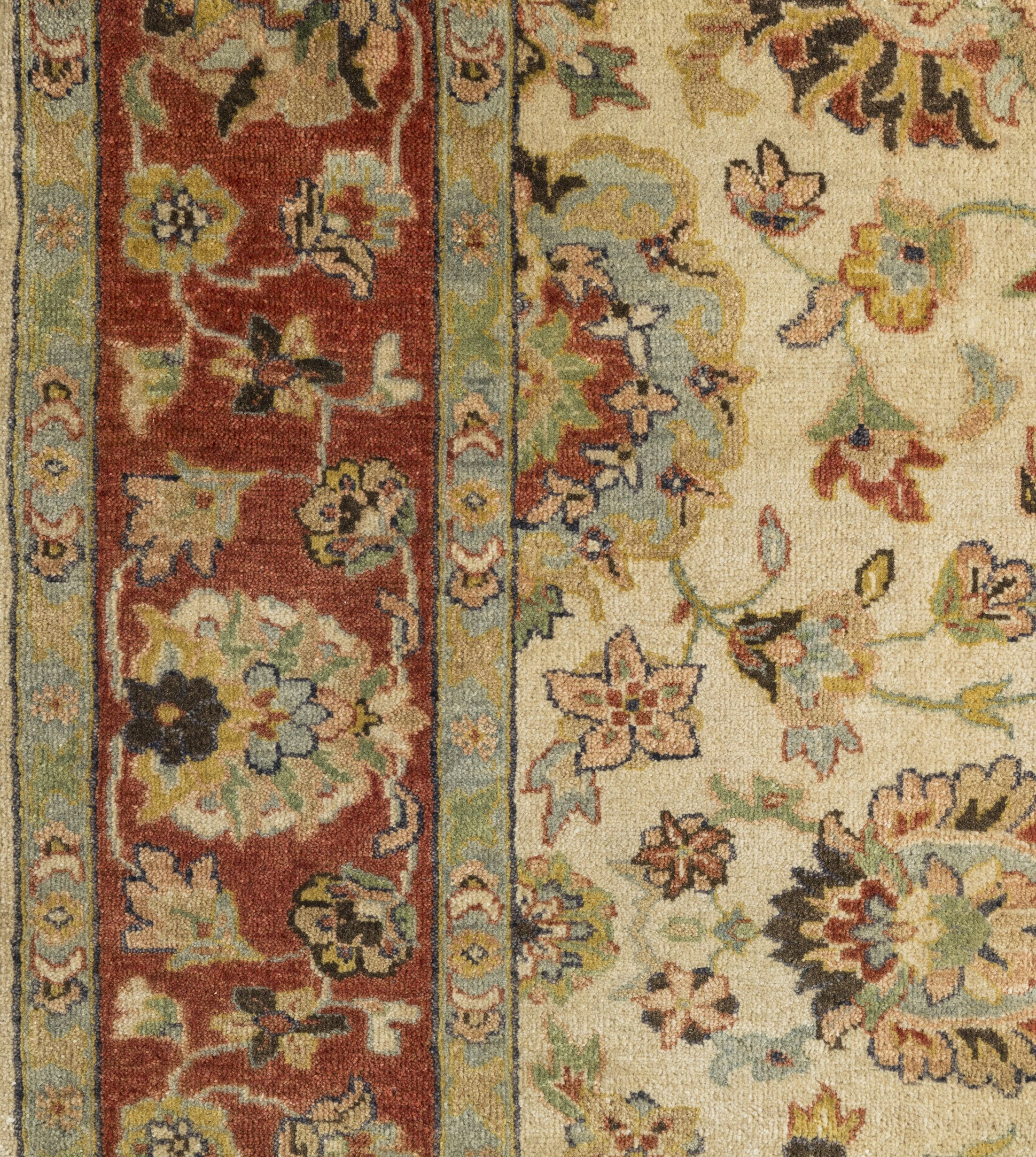 Blaine Hand-Knotted Beige Area Rug Rug Size: 2' x 3'