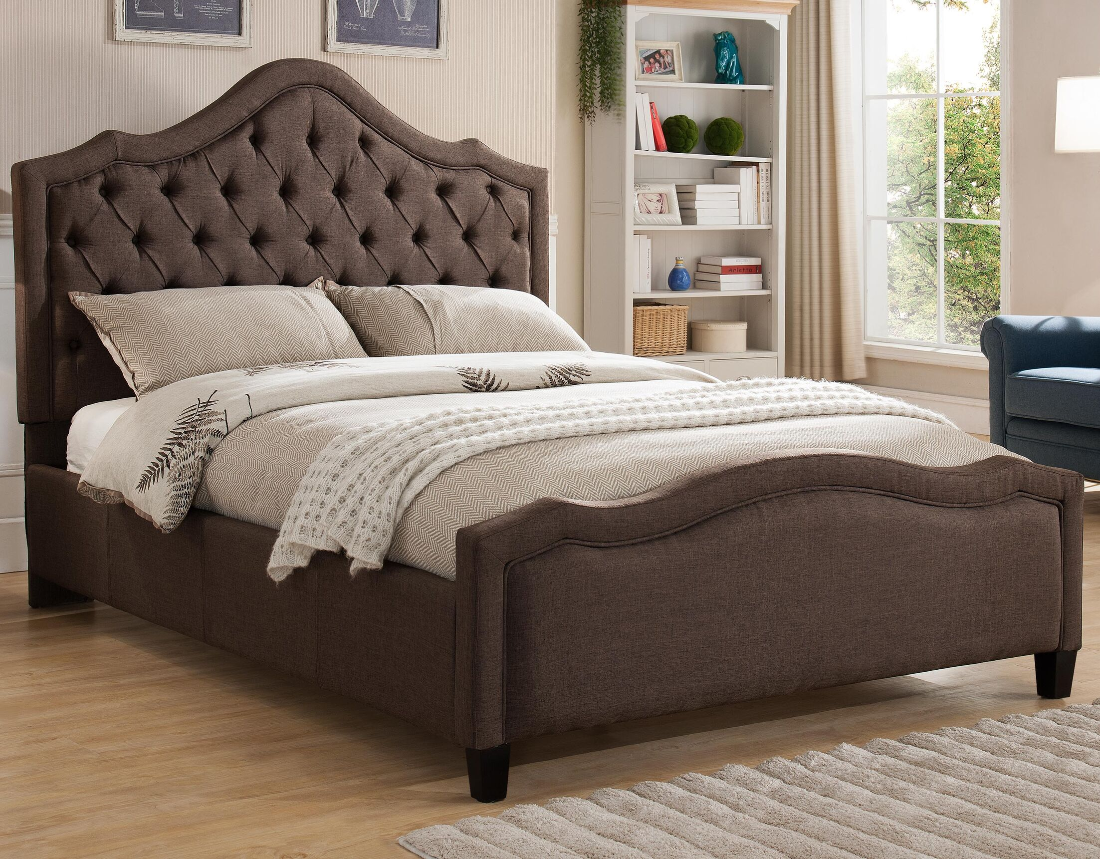 Richfield Upholstered Platform Bed Size: California King