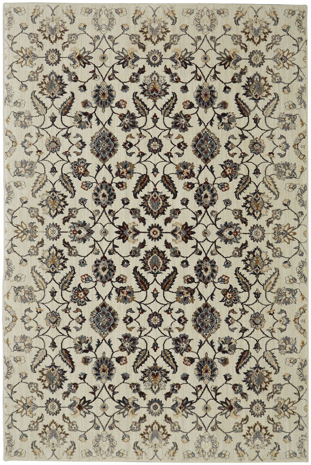 Lakemont Beige/Brown Area Rug Rug Size: Rectangle 5'3