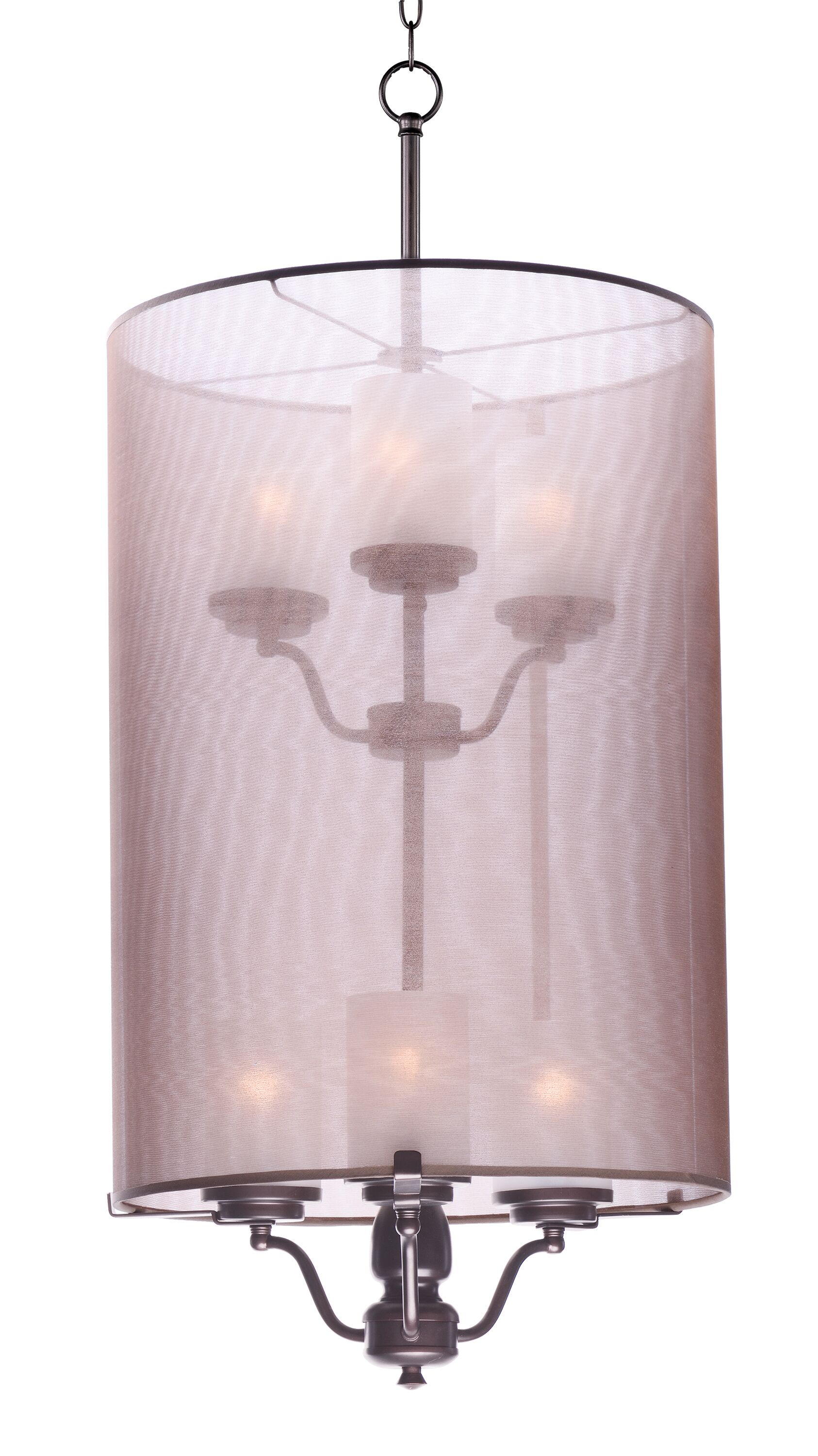 Tiltonsville 6-Light Shaded Chandelier Finish: Oil Rubbed Bronze