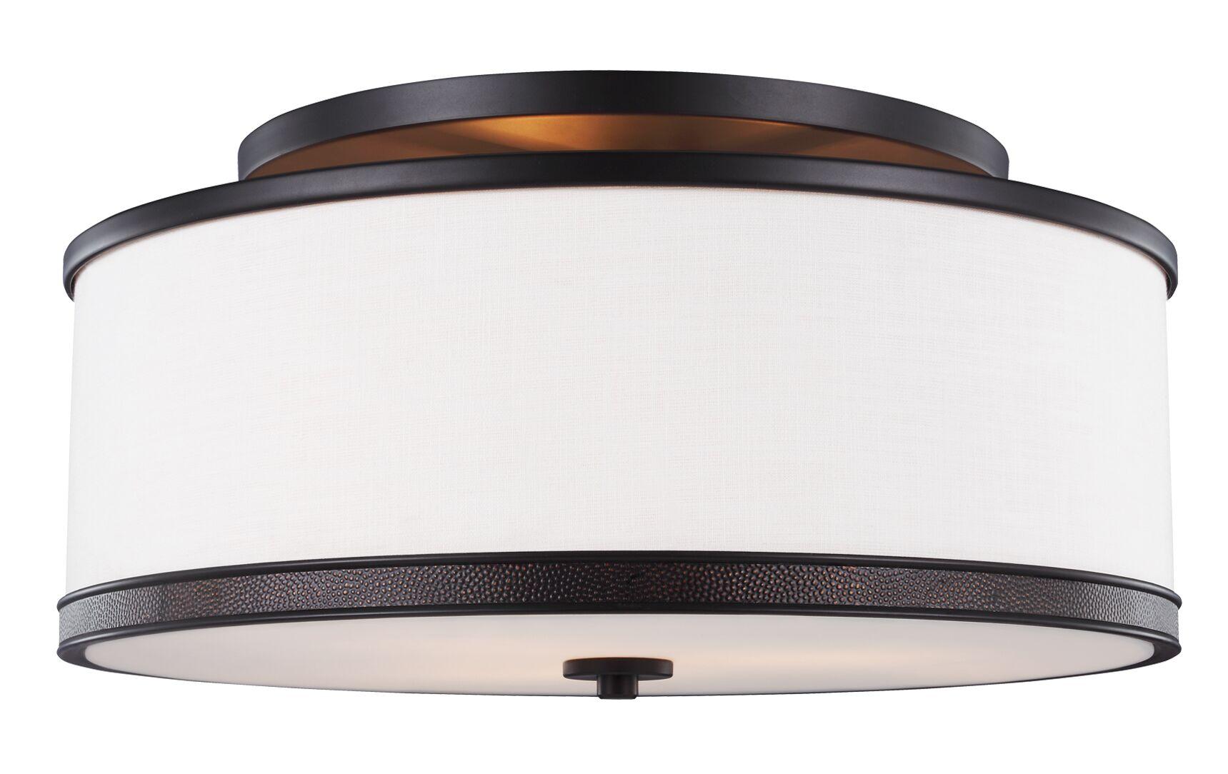 Oneal 3-Light Semi Flush Mount