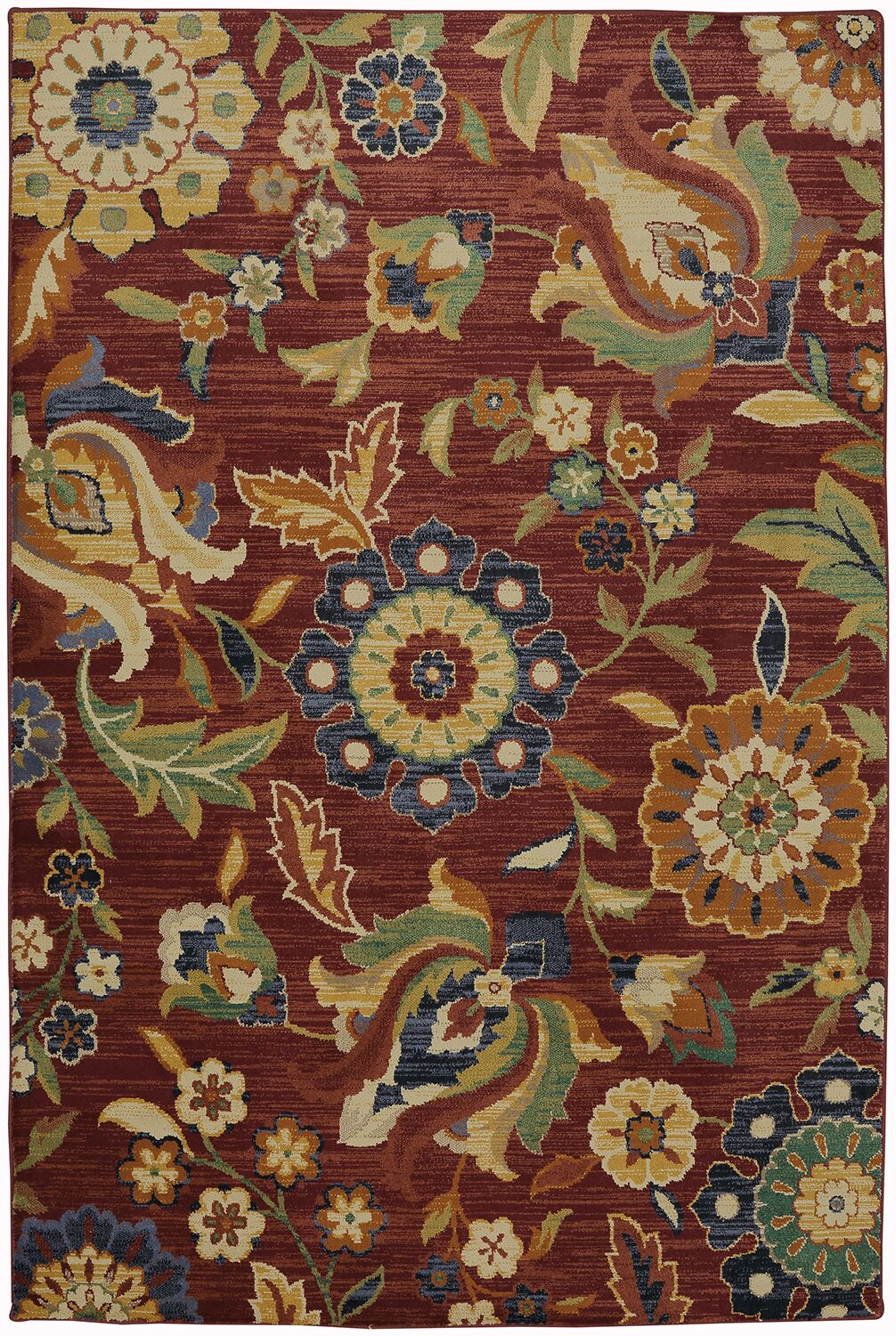 Boutell Berry Area Rug Rug Size: Rectangle 5'3