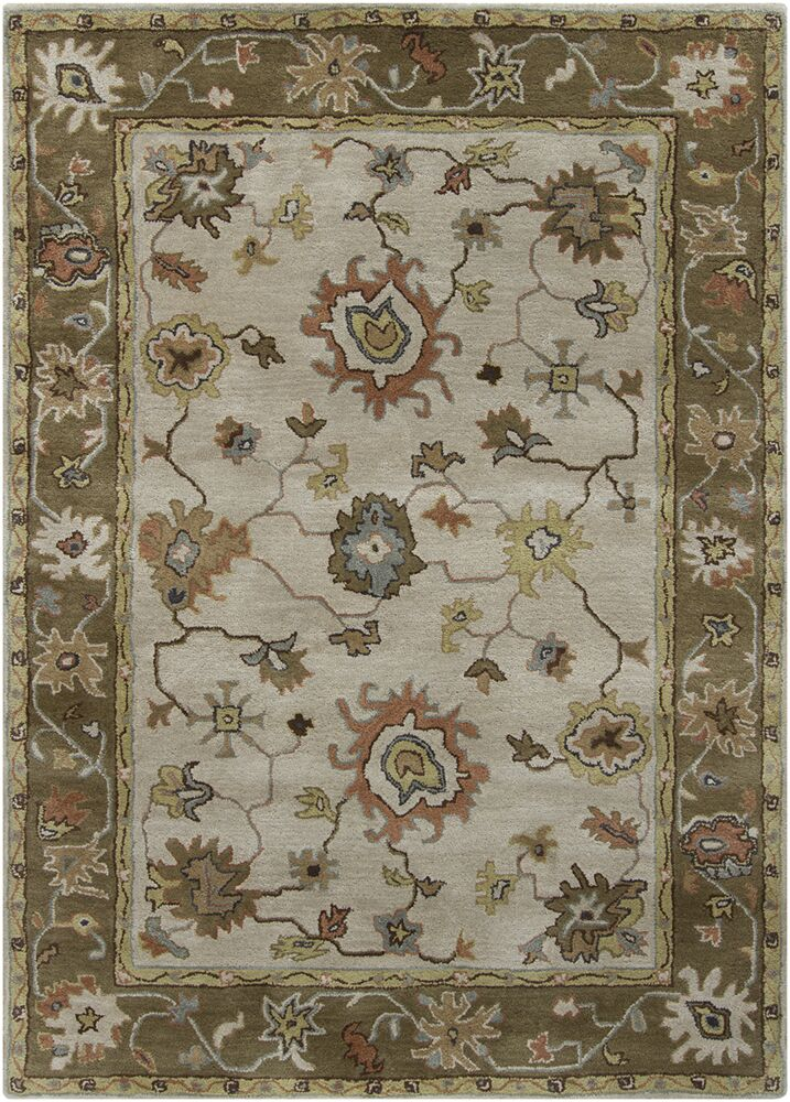 Bartz Grey/Brown Area Rug Rug Size: Rectangle 7' x 10'
