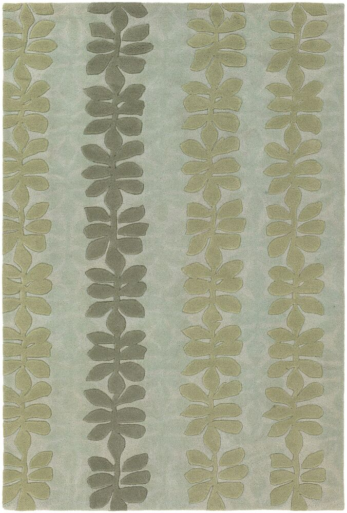 Pearcy Blue/Grey Area Rug Rug Size: Rectangle 5' x 7'6