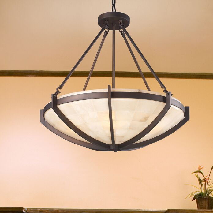 Midland 6-Light Bowl Pendant