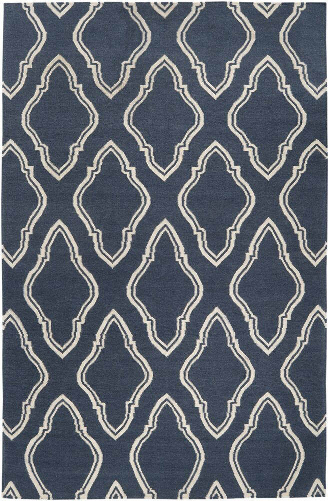 Findley Slate Blue Area Rug Rug Size: Rectangle 8' x 11'