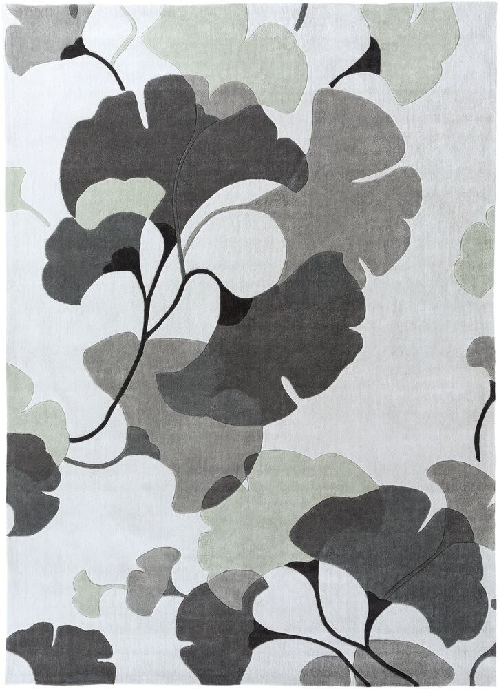 Chu Gray/Oatmeal Rug Rug Size: Rectangle 9' x 13'