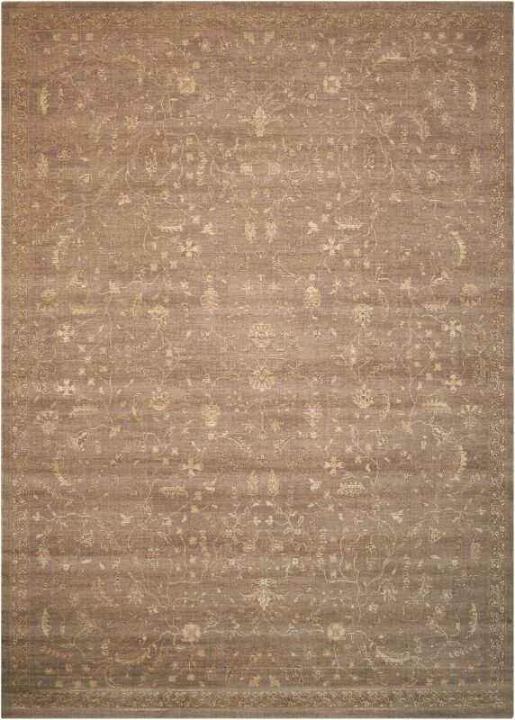 Hillsboro Taupe Area Rug Rug Size: Rectangle 2'3