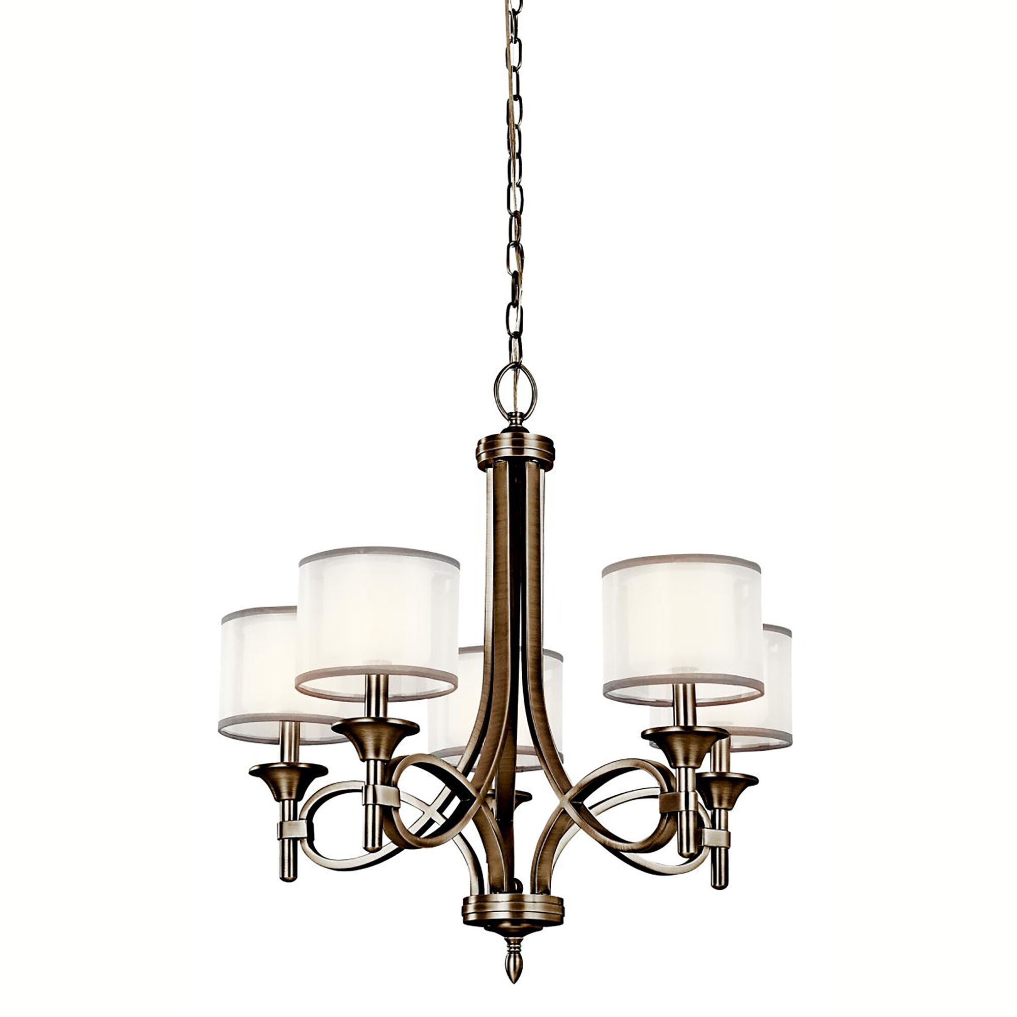 Boswell 5-Light Shaded Chandelier