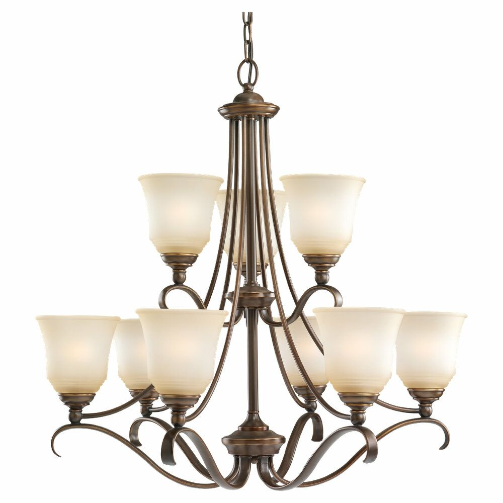 Culley 9-Light Shaded Chandelier