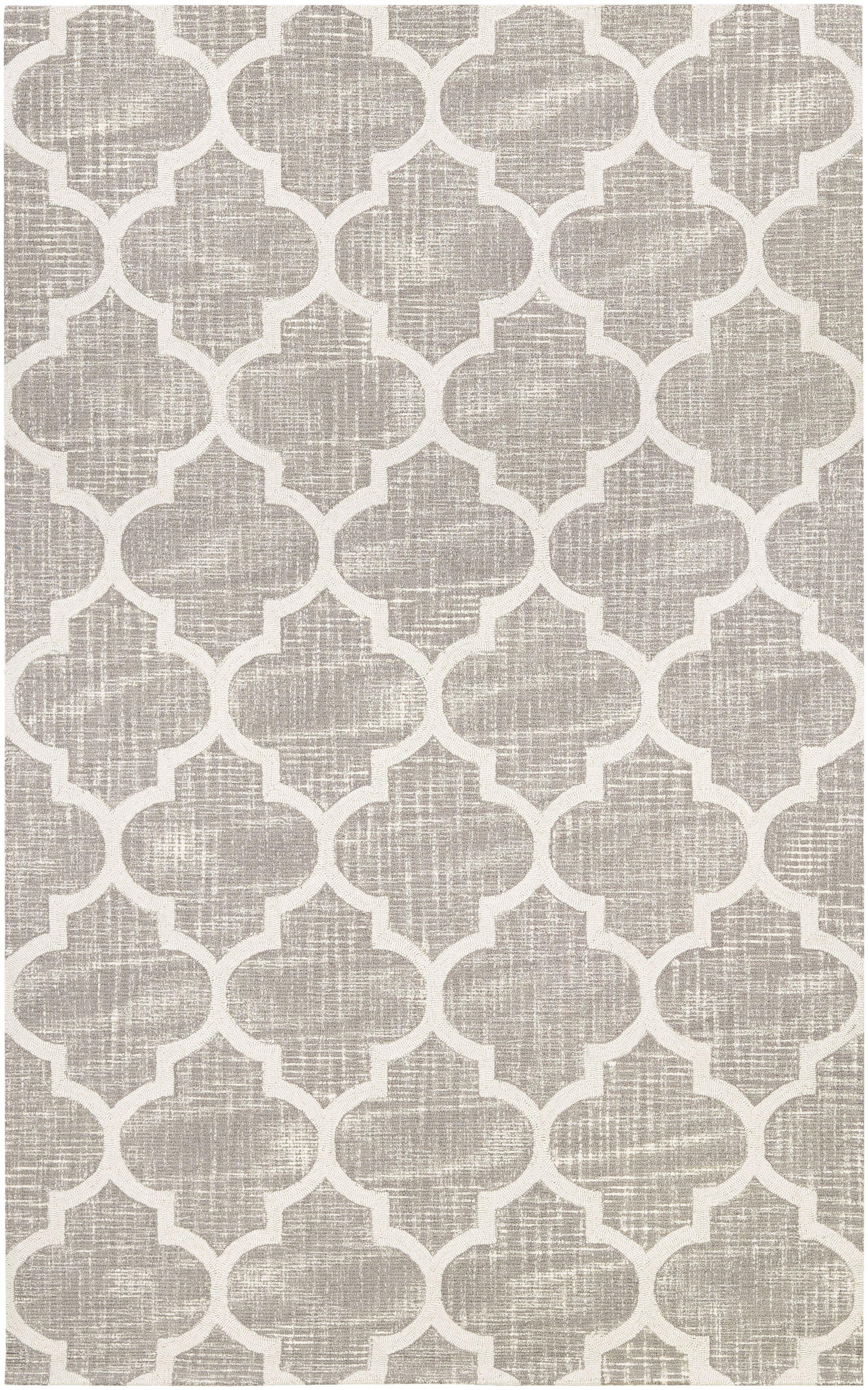 Lissette Hand-Woven Gray/Ivory Area Rug Rug Size: Runner 2'3