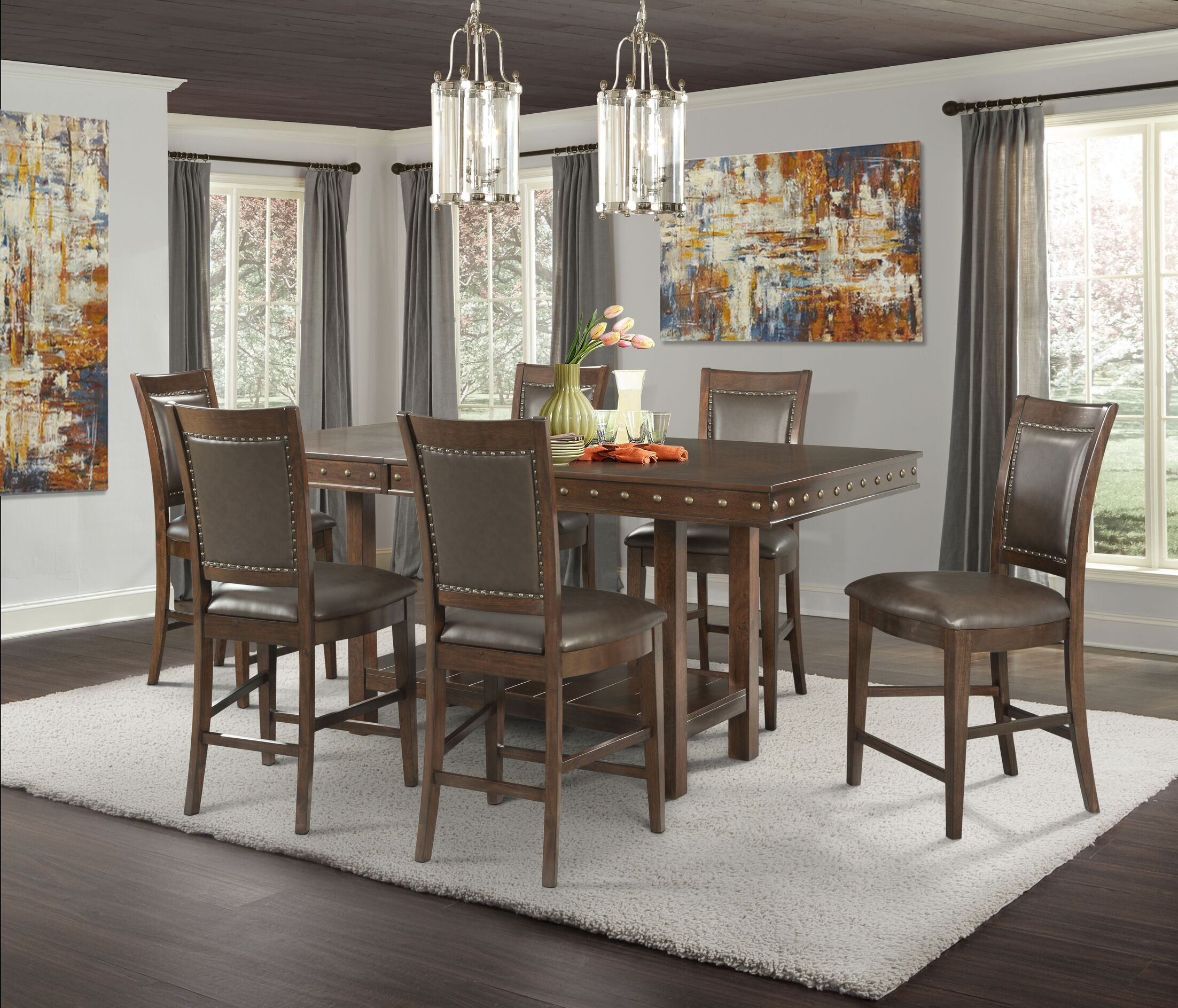 Owen 7 Piece Counter Height Dining Set