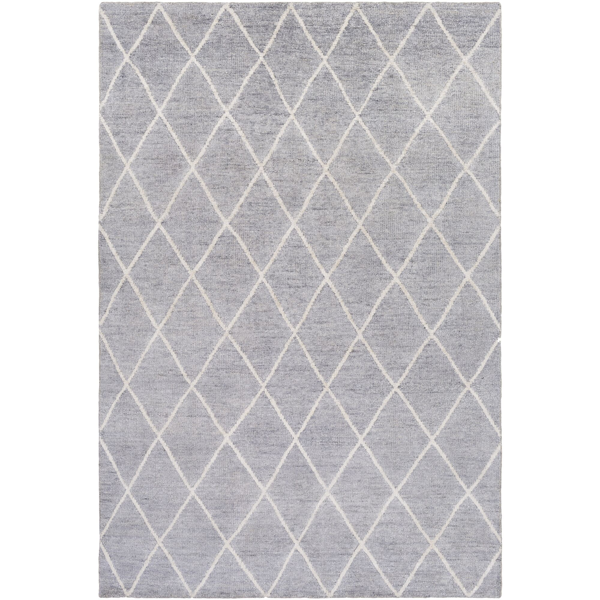 Pearl Hand-Knotted Ivory Area Rug Rug Size: Rectangle 2' x 3'