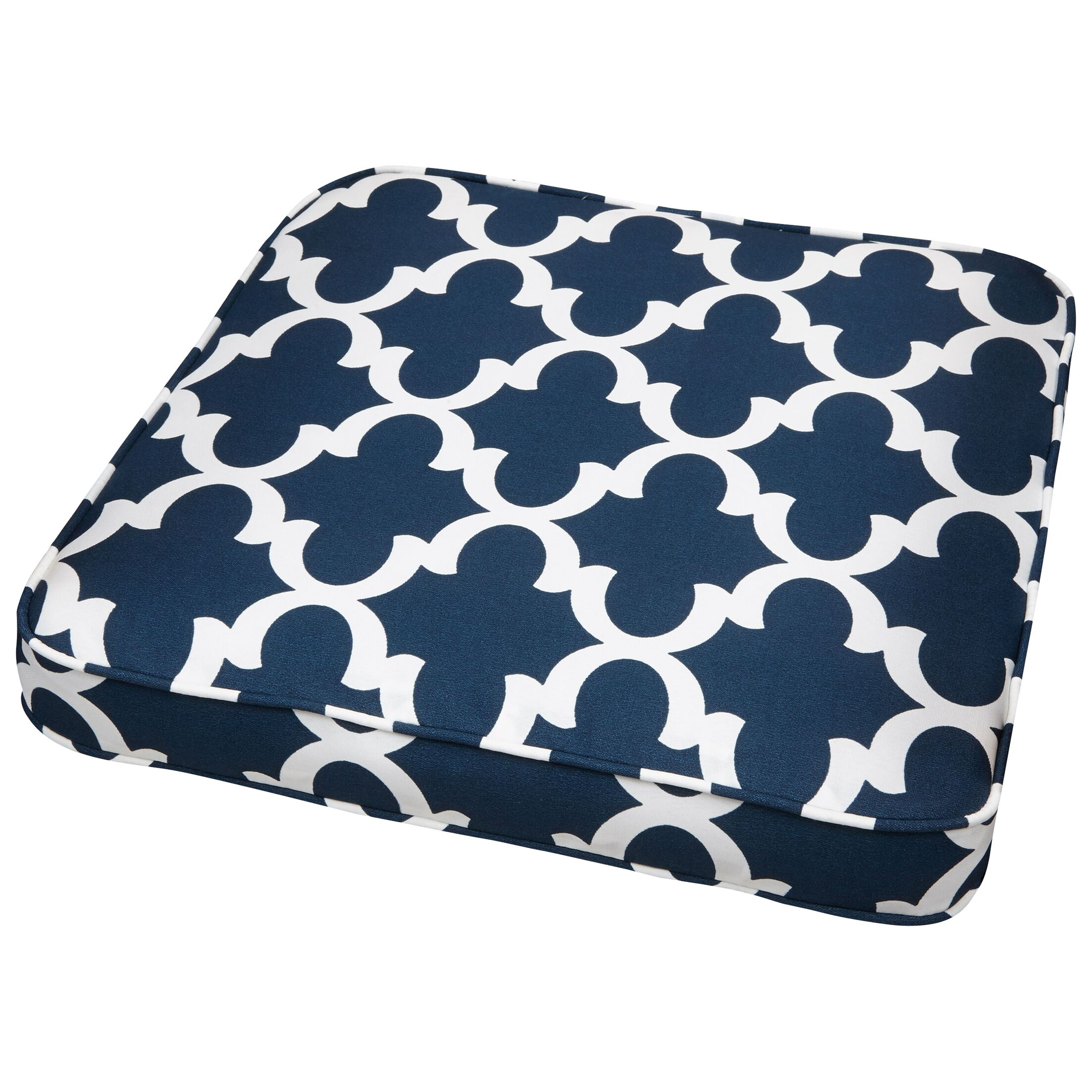 Stylish Indoor/Outdoor Dining Chair Cushion Size: 19
